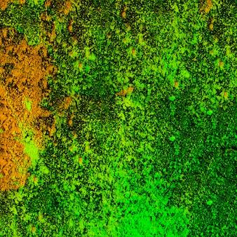 Holi seco colorido espalhado sobre o fundo
