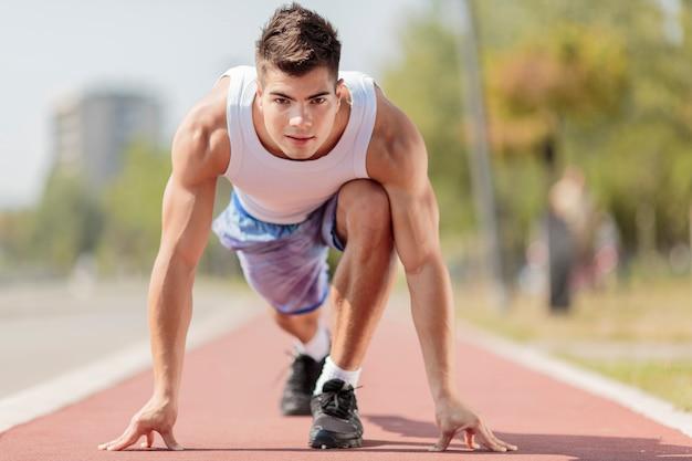Homem atlético