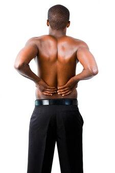 Homem com espinha dorsal