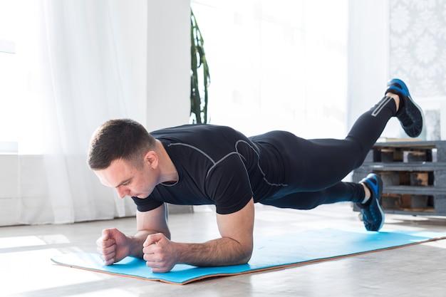 Homem de fitness