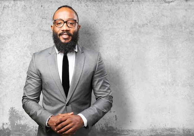 Homem de negócios com barba