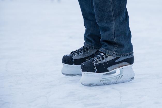 Homem de patinação