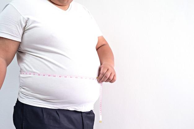 Homem gordo