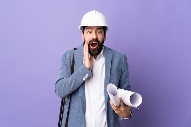 Homem jovem arquiteto