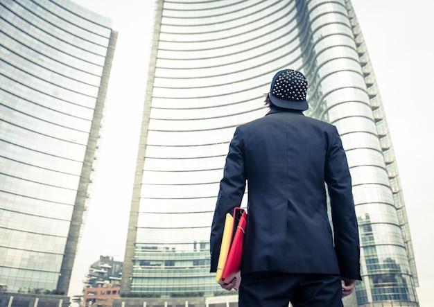 Homem na cidade