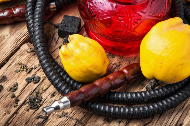 Hookah shisha com marmelo