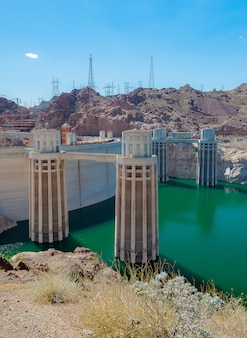 Hoover dam em nevada e arizona