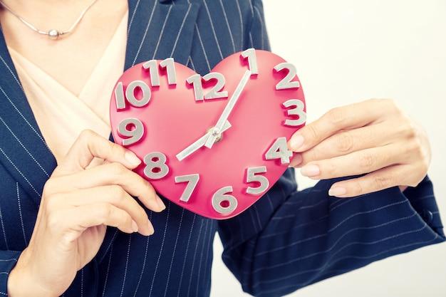 Hora do negócio de amor
