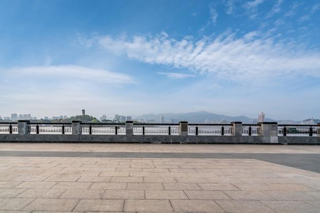 Horizonte arquitetônico de wenzhou, zhejiang