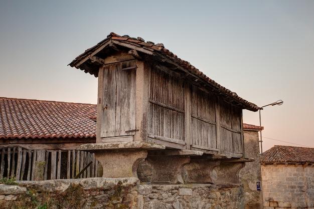 Horreo, celeiro espanhol típico
