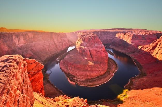 Horseshoe bend page, arizona, grand canyon, estados unidos da américa