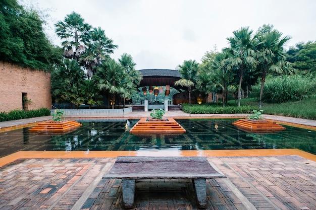 Hotel de luxo ao ar livre