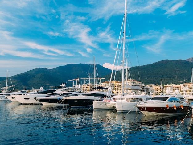 Iate porto montenegro elite área de tivat