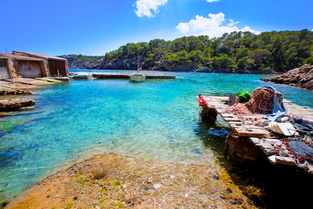 Ibiza cala mestella mastella em santa eulària des riu