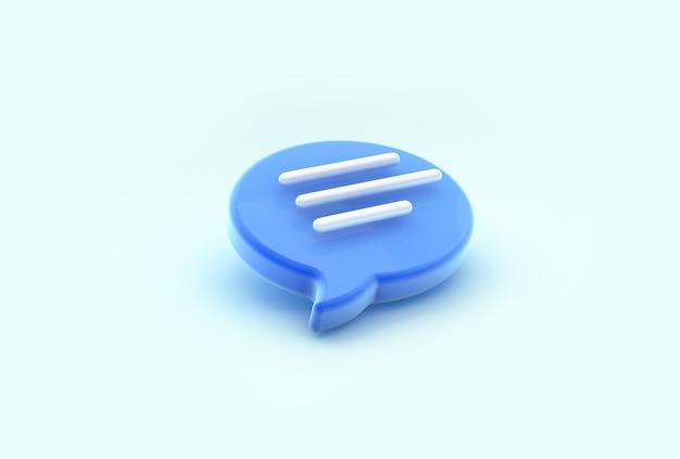 Ícone de bolha do bate-papo. conceito de mensagens de mídia social, sms, comentários.