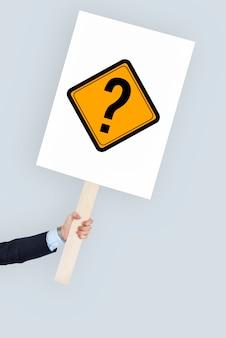 Ícone de interrogação pergunte