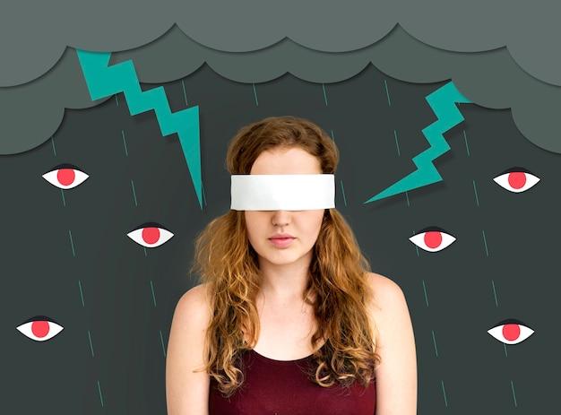 Ícone de problema comunitário de comportamento de intimidação
