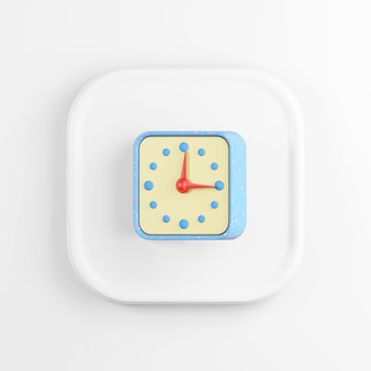 Ícone de relógio azul.