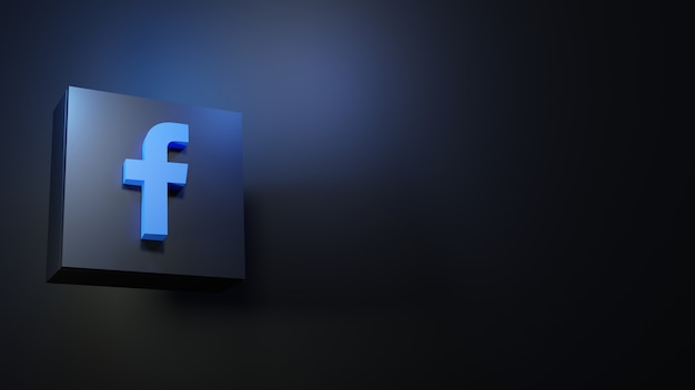 Ícone do facebook design hd ícone do facebook