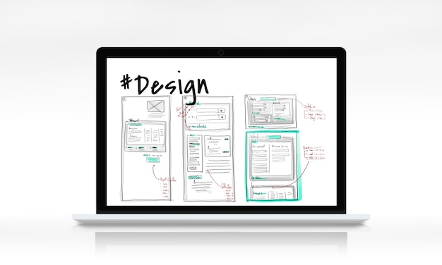 Ícone do site de design de conteúdo de página da web
