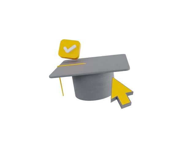Ícone livro educação graduação internet universidade informática curso elearning