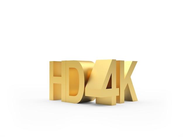 Ícones de ouro hd 4k