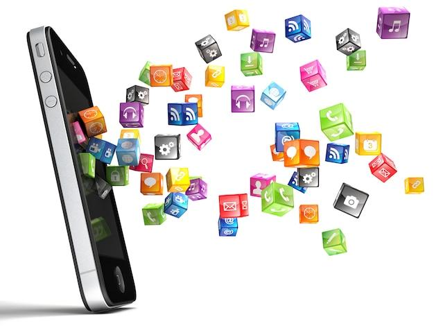 Ícones do smartphone