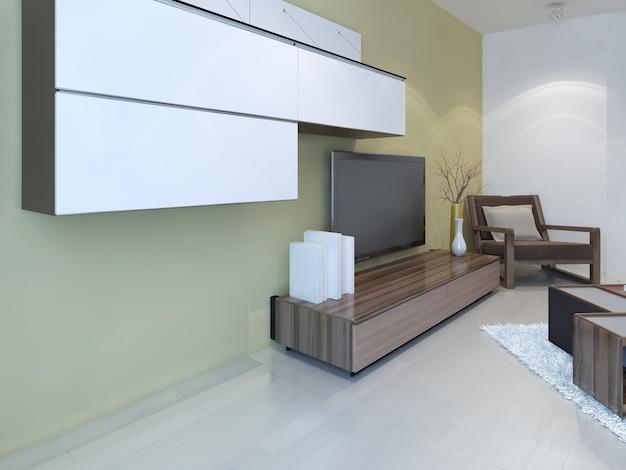 Ideia de sala de estar de fusão