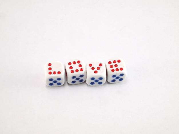 Idéias na mídia sobre os dados do amor