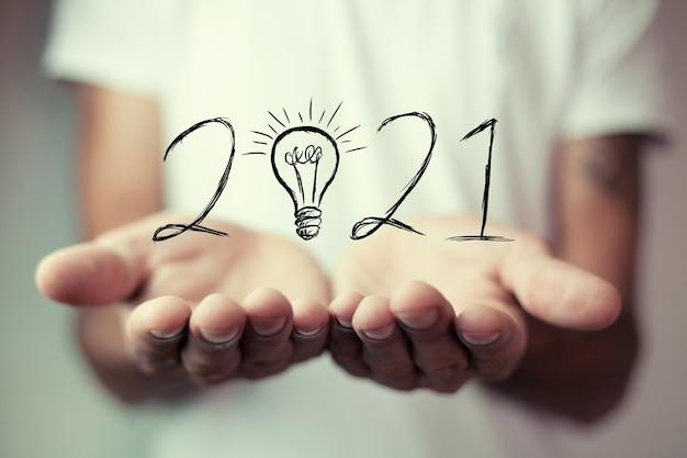 Ideias novas e melhores em 2021