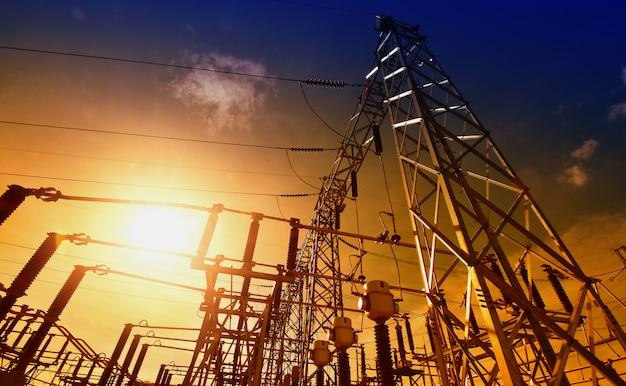 Idéias principais da energia da central energética e economia de energia