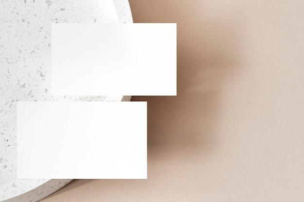 Identidade mínima da marca do cartão de visita