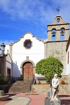 Iglesia parroquial de san marcos em icod de los vinos, tenerife