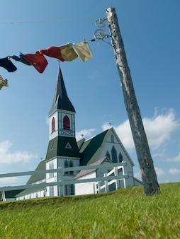 Igreja anglicana, paul, trindade, bonavista, península, newfoundland, e, labrador, canadá