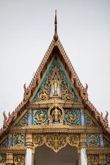 Igreja budista na tailândia