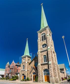 Igreja católica de santa maria da catarata em niagara falls