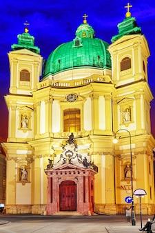 Igreja católica de são pedro (katholische kirche st. peter), vienna.austria.