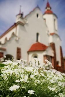 Igreja católica romana de nossa senhora ruzhentsova em soly