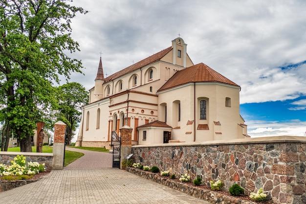 Igreja da assunção da santíssima virgem maria. lituânia