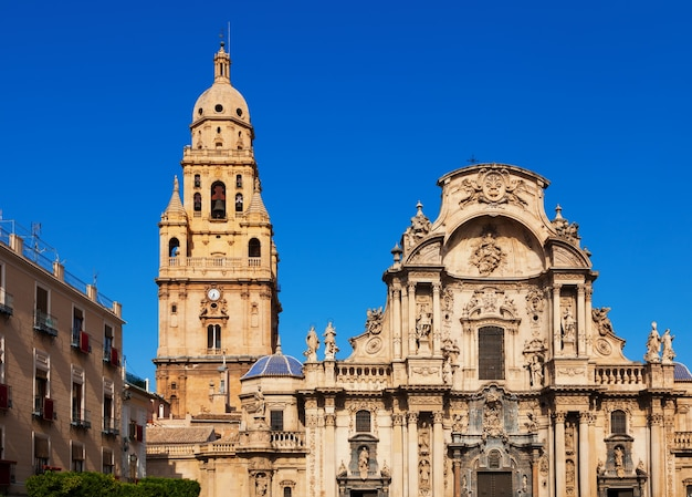 Igreja da catedral de santa maria em múrcia. espanha