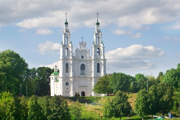 Igreja da catedral de santa sofia. cidade de polotsk, bielo-rússia