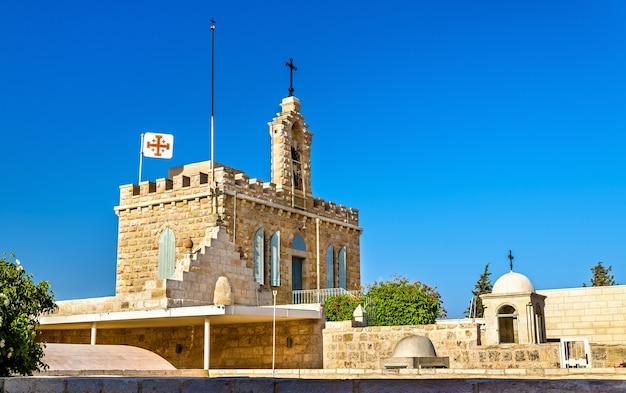 Igreja da gruta do leite em belém - palestina, israel