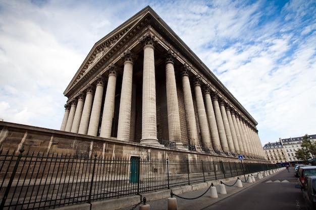 Igreja da madeleine em paris na frança