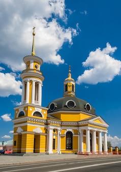 Igreja da natividade em kiev, ucrânia