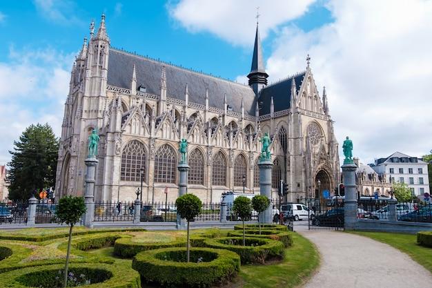 Igreja da nossa senhora em bruxelas, bélgica