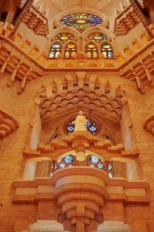 Igreja da sagrada família em barcelona.