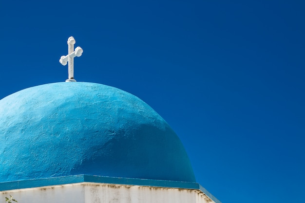 Igreja de lefkes em paros, grécia