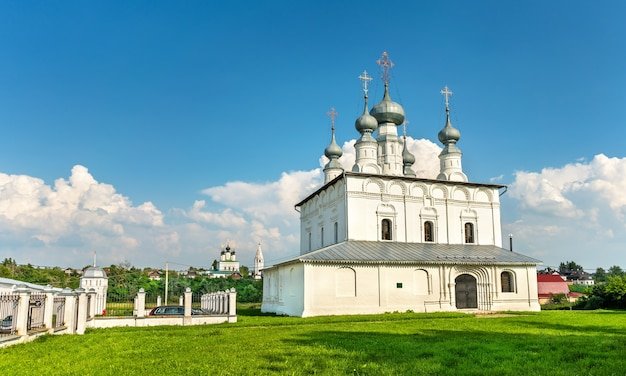 Igreja de pedro e paulo em suzdal, o anel de ouro da rússia
