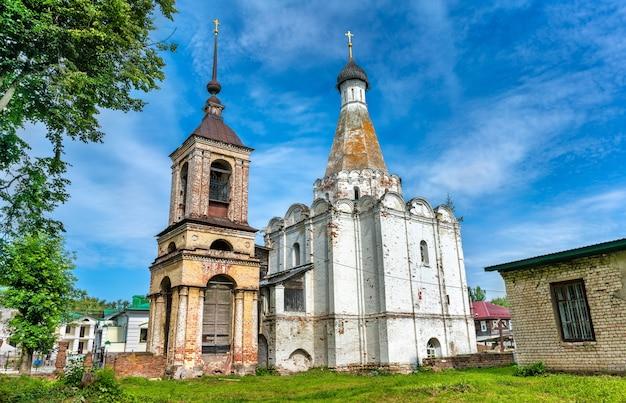 Igreja de pedro, o metropolita, em pereslavl-zalessky. o anel de ouro da rússia