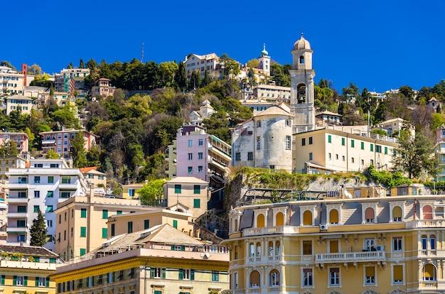 Igreja de san nicola da tolentino em gênova - itália